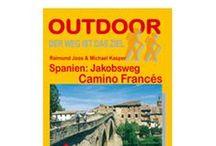 Camino:guías, libros,revistas / Guías en inglés, español y alemán.