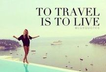 Viajar es vivir / Travel inspiration. Travel quotes