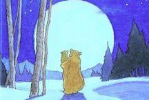 big bear and little bear♡