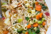 Recipes  Soups / Warm up with these soups, chilis and stews recipes.