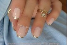 beautiful nail ideas / nails, nailpolihs, french manicures and things like these