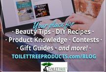 ToiletTree Products Blog / Tips, At Home Beauty DIY, Product Info, Gift Guides and How-To's.