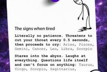 Zodiac Signs / Fun facts about each zodiac sign