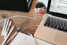 Studying / School