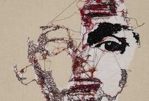 Embroidery stitch art