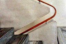 escaliers et garde-corps / by Melissa Ohnona