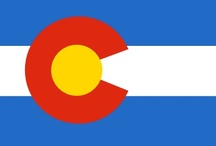 Colorado / Colorado is a U.S. state encompassing most of the Southern Rocky Mountains as well as the northeastern portion of the Colorado Plateau & the western edge of the Great Plains. It is bordered by Wyoming to the north, Nebraska & Kansas to the northeast & east, on the south by New Mexico & Oklahoma, on the west by Utah, & Arizona to the southwest. The 4 states of CO, NM, UT, & AZ meet at 1 common point known as the Four Corners. / by Rhian Non