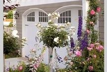 Garage Doors / The face of your garage may need a facelift. Check out these beautiful doors for inspiration.  / by Chamberlain