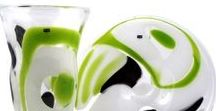 Svaja Glass Nida Vases, Plates, Bowls / Beautiful, unique, handmade interior accessories for home, office, public spaces