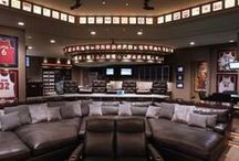 Man Caves / Every man needs a man cave….IDEA! Convert the garage?  / by Chamberlain