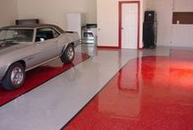 We're Floored / There's no need to have a plain-Jane floor anymore! Awesome garage floors & ideas / by Chamberlain