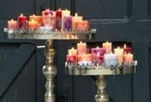 Candles & Lights! / Beautiful pictures of lights & candles! / by DIY SHABBY CHIC