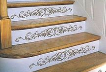 Stencil Ideas :) / Love Stencils! / by DIY SHABBY CHIC