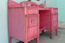 Painted Furniture Ideas! / Stunning pieces and creations. why not join our workshops and create your own master piece! / by DIY SHABBY CHIC