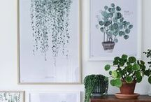 my interiors full of greens