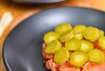 Les 10 plus beaux tartares de saumon fumé sur Pinterest!  / La Délicieuse Découverte de la semaine est au Voodoo, il s'agit du tartare saumon et saumon fumé, mais voyez ce qui est proposé de par le monde!