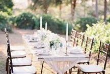 Tischdekoration / Einen bezaubernden Eindruck bei deiner Tafel macht immer perfekt abgestimmte und in Szene gesetzte Dekoration zusammen mit traumhaften Blumen.
