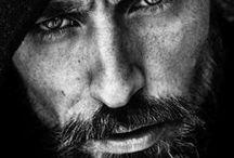retratos de hombres / retratos de todo tipo de hombres