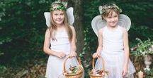 Feen - Fairies - des fées / Eine Feen Hochzeit ist besonders schön. Das kleine Volk, zauberhafte Wesen, eins mit der Natur feiert funkelnde Feste! Lass dich inspirieren