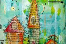 Malerier og brugskunst
