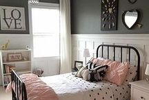 Bedrooms For Your Little Lady! / Our tips on how to give her a room she'll never want to leave!