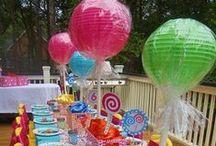 candy & cupcake theme
