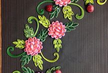 Quilling ideas / Some designs made by me and some from other friends and online sites too...this is not for any sale or other stuff..