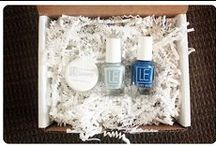 """LE Duo Box / About: """"The LE Duo Box by Lillian Eve is a monthly nail polish subscription box delivering artisan nail color to your door."""" For full subscription box reviews, visit http://musthaveboxes.com."""