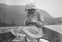 Women Fishing / Old Photos
