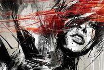 Grafity a street art / Graffiti je v obecném smyslu druh výtvarného projevu pracující ve veřejném prostoru technikou nanášení barev, často ve formě spreje nebo fixy, případně škrábání, leptání. Vychází z původního řeckého slovesa γραφειν (grafein), psát. Graffiti se stalo jedním z původních pilířů kultury Hip hopu, označované za kulturu protestu. Graffiti lze bez zřetele na Hip hop vnímat jako městský folklór ulice. V pozdější době je obohaceno o další techniky vyjadřování a stává se streetartem, příp. mural artem.