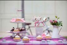Mesas dulces: Bodas / Una pequeña fiesta de cumpleaños, una comunión o una gran boda... podemos darle ese toque tan dulce que tu evento necesita para hacerlo mucho más especial.  Mi Dulce Magdalena, repostería casera con mucho amor.