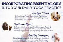 Oily Yoga & Pilates / Æteriske olier kan med fordel benyttes under en Yoga og Pilates session. Få mere inspiration hér.