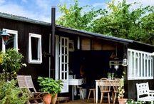 Sommerhus / Inspiration der kan bruges til vores sommerhus på Fanø