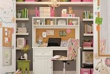 Office ideas / Designing Your Home Office Space with Feng Shui in Mind is Key when Working from Home.  Learn more here at CircleofWealth.ca