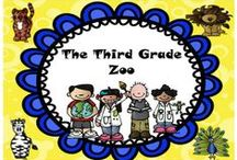 The Third Grade Zoo: Creative Ideas for the Third Grade Classroom / This board contains ideas and resources for teaching grade three.