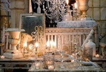 Vintage Chic by Goen South / Goen South Weddings, San Antonio, Texas, Vintage Décor, One-of-a Kind rustic accents. Planning, coordinating, floral, photography, video, dj, linens, lighting and catering by Goen South