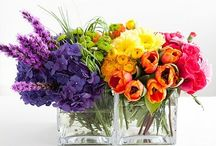 Color themes for wedding and events / colour combinations for bridal party and flowers