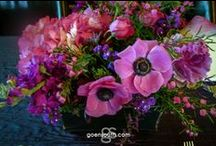 Awesome Blossoms-Wedding Flowers by Goen South / Beautiful wedding flower creations by Goen South from mason jars, burlap to crystals we do it all.