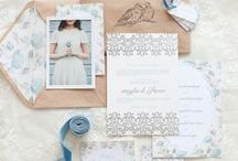 Invites & Stationery / The delicate art of words can paint the most mesmerizing masterpieces with a simple stroke of a pen.  Have a look at these gleaming creations that announce to the world the love you share with your prince charming!   / by Ruche Bridal