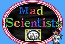 Mad Scientists: Science experiments and lessons / by The Third Grade Zoo