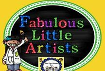 Fabulous little Artists: Art ideas and lessons for K-7