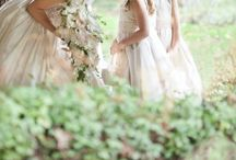 Flowergirls / cute and pretty flowers and dresses for flower girls in wedding parties