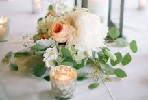Table flowers / Ideas for wedding or event table flowers