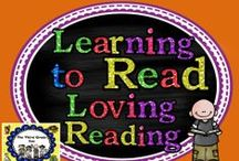 Learning to read and loving reading!