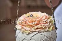 Floral purses