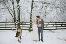 Winter Weddings / Let your wedding be a winter wonderland.  / by Ruche Bridal