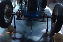 Powerhouse Museum, Sydney / Great old Bugatti, Quad and planes