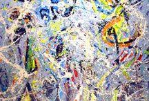 Jackson Pollock / Action Painting