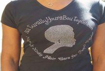 Bling T-shirts & Things / T-shirts, head-wraps, musings etc.