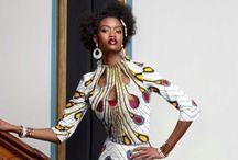 African Inspirations / African print, clothing, accessories etc.